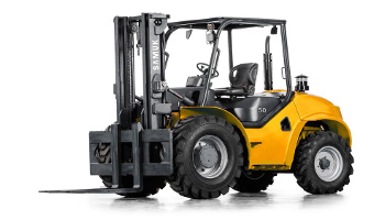 6,000 lbs. rough terrain forklift in Denver